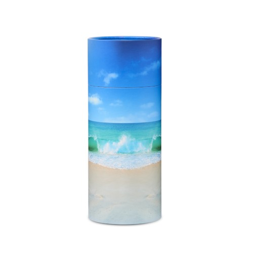 Beach Bio Scattering Cremation Urn- Large