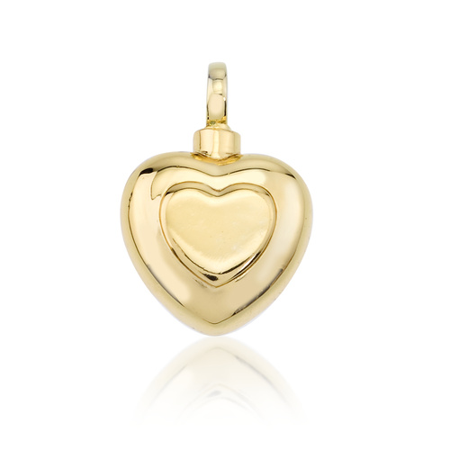 Double Heart - 14ct Gold Vermeil